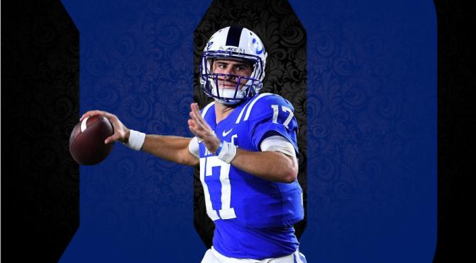 2019 NFL Draft Scouting Report: Duke QB Daniel Jones