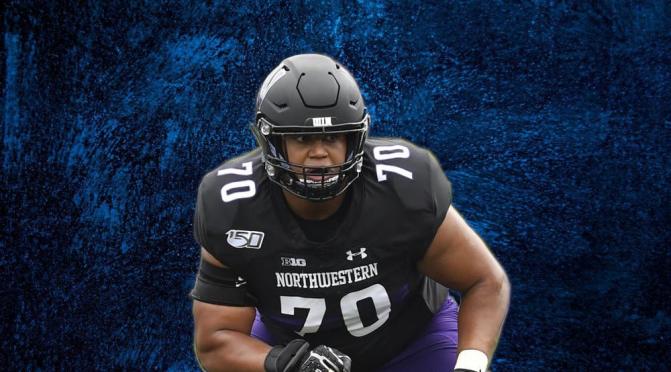 2021 NFL Draft Scouting Report: Northwestern OT Rashawn Slater